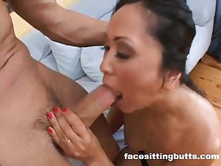 Asian MILF got a sticky hot creampie