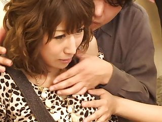 Bizarre Japanese game show featuring real life couple who watch an orgy with curvy and busty actresses unfold and if the boyfriend gets hard his girlfriend then has to join the party subtitled