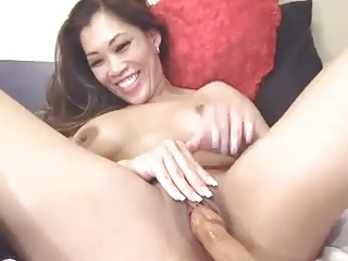 Dirty talking asian sucks and masturbates 2